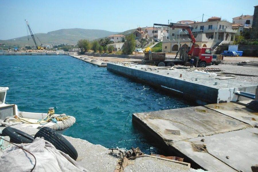 Παίρνει μορφή το Λιμάνι Σιγρίου!