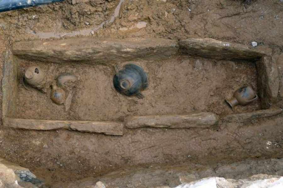 Ο τάφος μιας αρχόντισσας πριν 2.800 χρόνια!