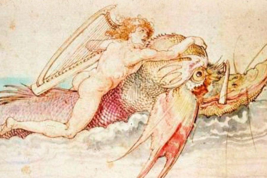 Απεικονίσεις του Αρίωνα στην Ευρωπαϊκή τέχνη