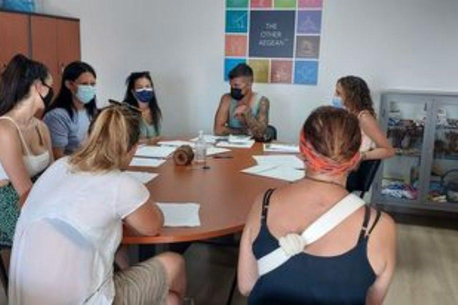 Φοιτητές από όλο τον κόσμο αποτυπώνουν τη Λέσβο