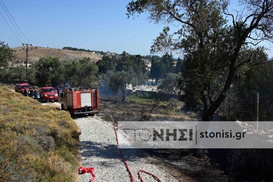 Πολύ υψηλός κίνδυνος πυρκαγιάς την Τετάρτη και την Πέμπτη