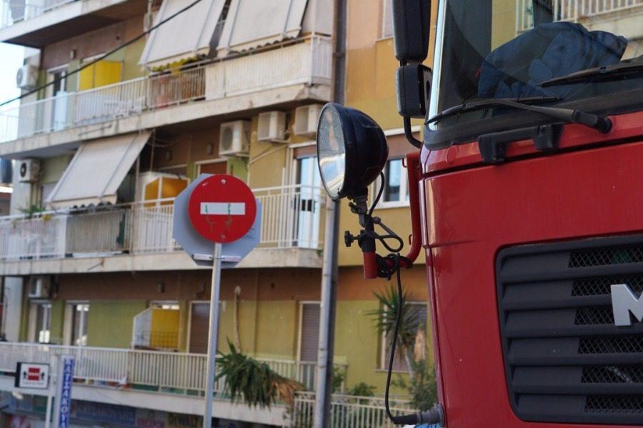 Πυρκαγιά σε διαμέρισμα της Μυτιλήνης