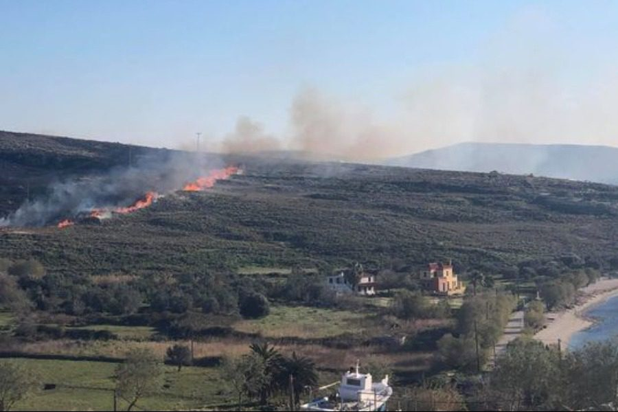 Έσβησε η φωτιά στο Σίγρι