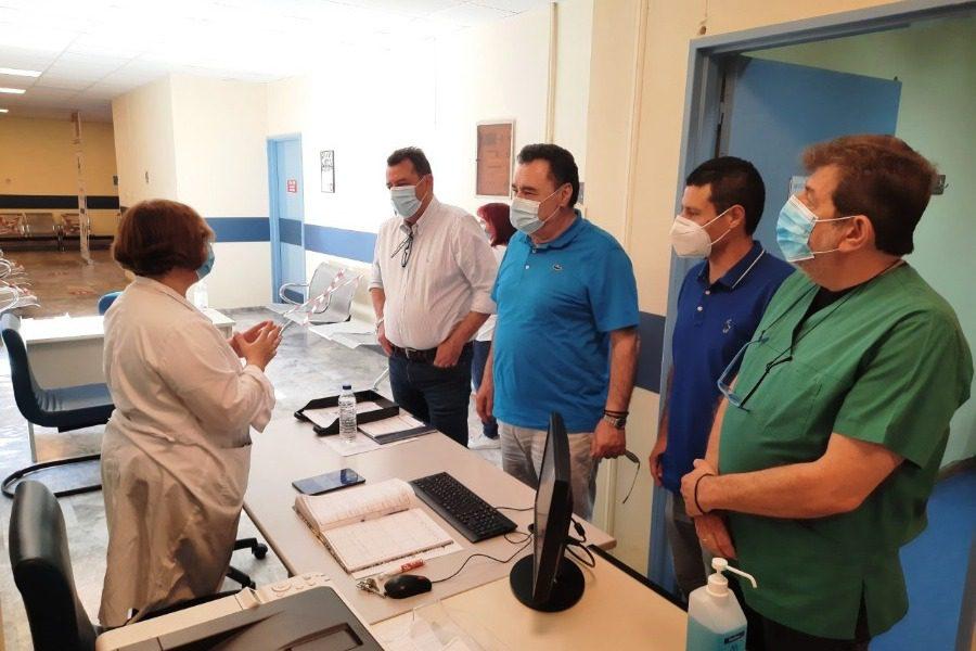 Επί τάπητος τα προβλήματα του Κέντρου Υγείας Καλλονής