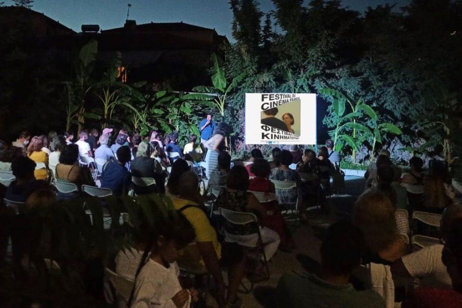 Πλήθος θεατών στο Φεστιβάλ Γαλλικού Κινηματογράφου