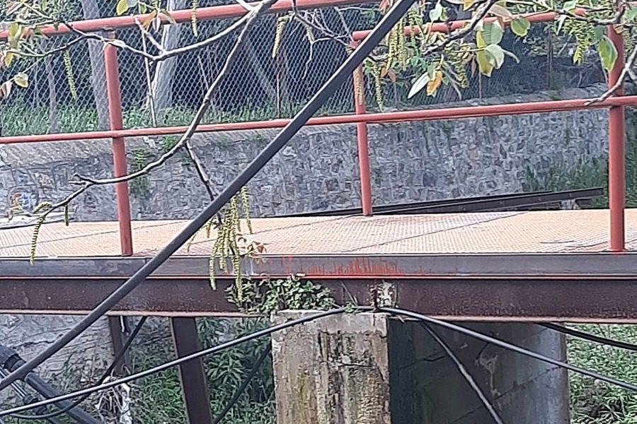 Επισκευάσθηκε γέφυρα στον ποταμό Σεδούντα