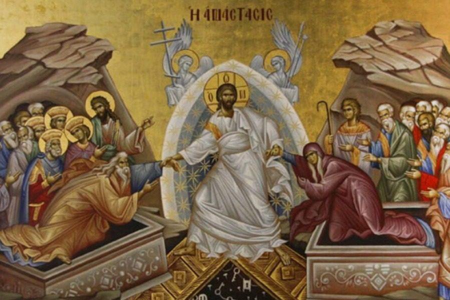 Aπευθείας από την Ι.Μ.Αγίου Ραφαήλ η Ακολουθία της Αναστάσεως