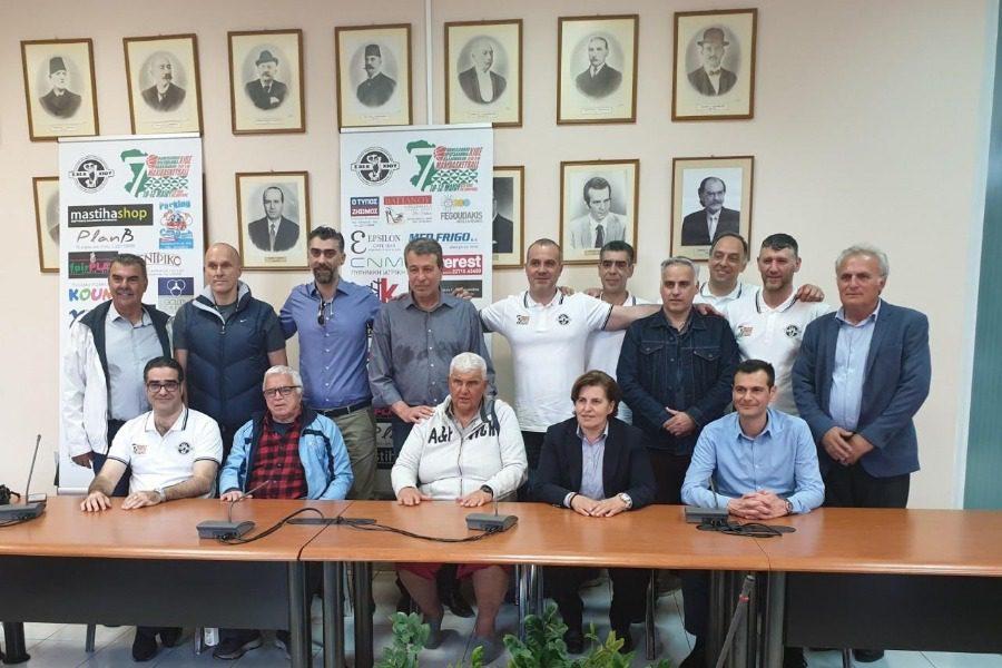 7o Πανελλήνιο πρωτάθλημα παλαίμαχων Καλαθοσφαιριστών
