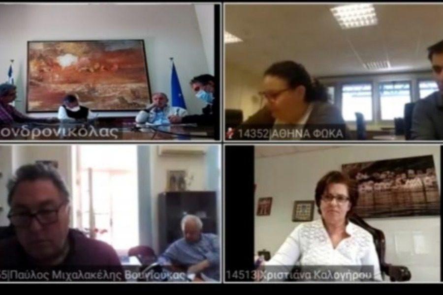 Σύσκεψη Καλογήρου με υπηρεσιακά στελέχη για το νέο ΕΣΠΑ 2021‑2027