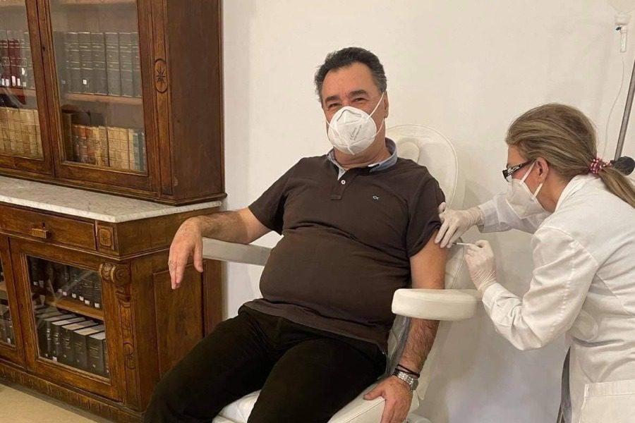 Πρεμιέρα εμβολιασμών στο Νοσοκομείο της Μυτιλήνης