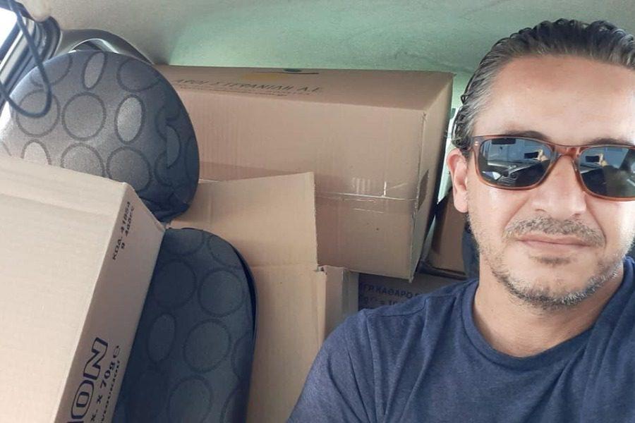 73 οικογένειες στη Λέσβο φροντίζει η ομάδα «Κανένας Μόνος»