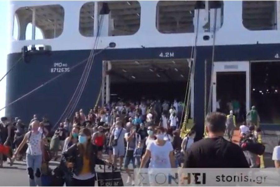 Αυξάνονται οι αφίξεις επισκεπτών στη Λέσβο