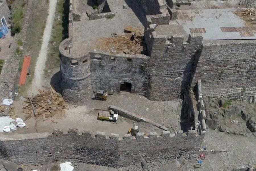 Προ των πυλών η αναστύλωση του κάστρου της Μήθυμνας