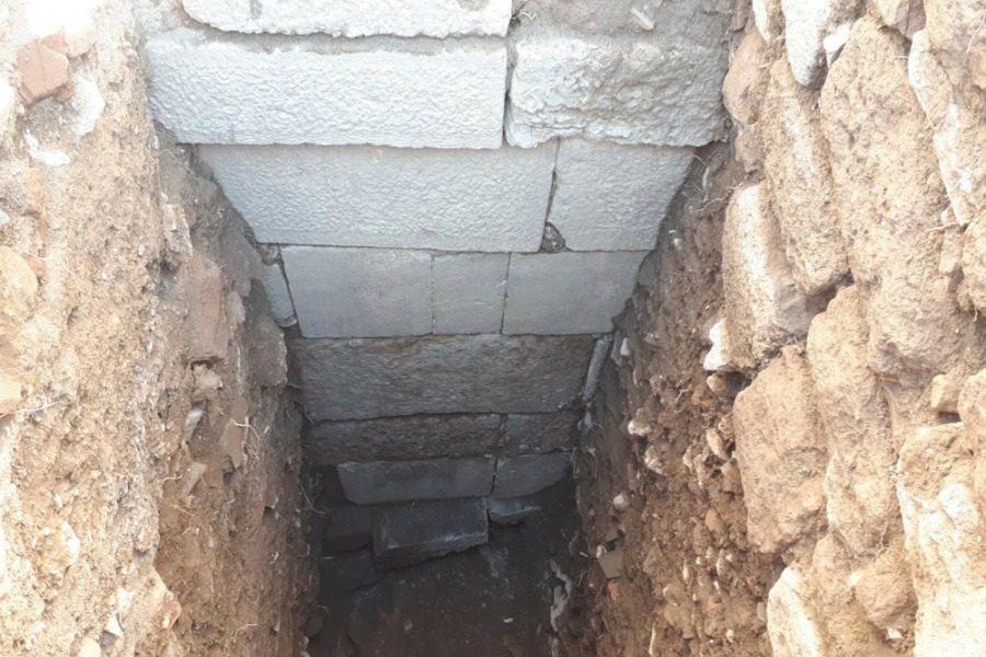 Στο φως το κλασσικό τείχος της Μυτιληνιάς Ακρόπολης