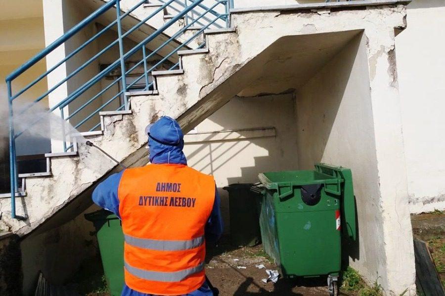 Πρωταθλητής στην καθαριότητα ο Δήμος Δυτικής Λέσβου