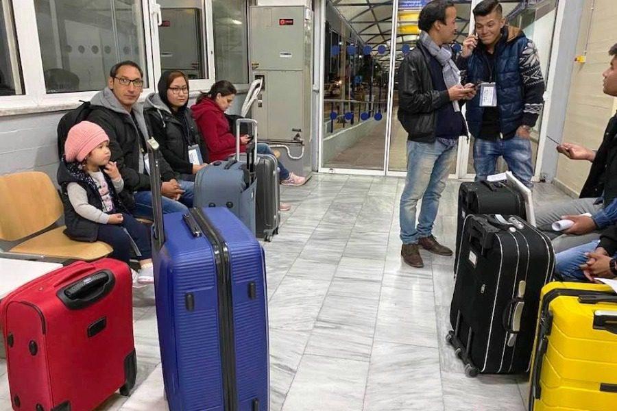 43 πρόσφυγες από τη Λέσβο στη Ρώμη