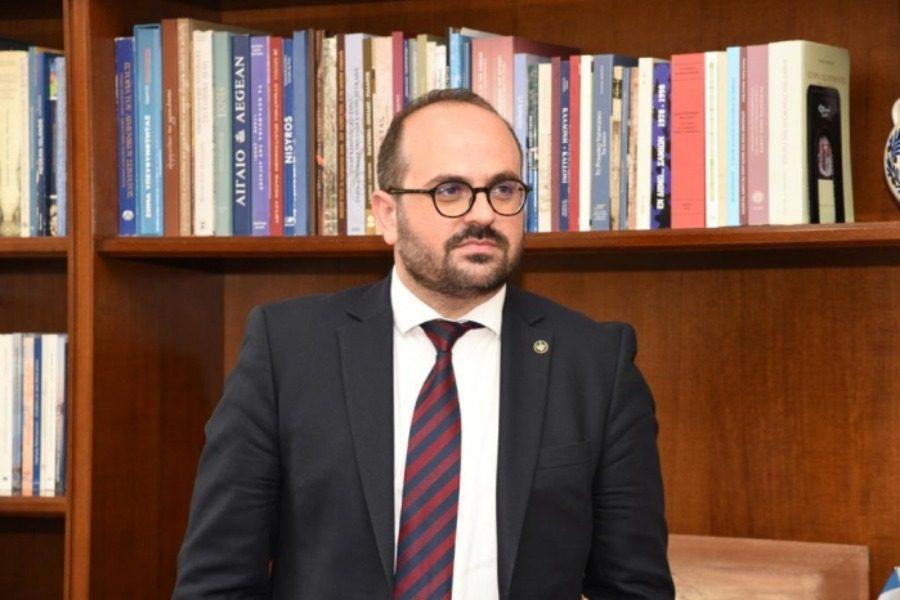 Μανώλης Κουτουλάκης, ο νέος Γενικός Γραμματέας Αιγαίου