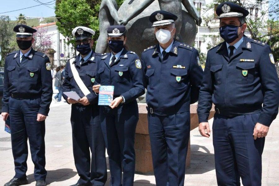 Ενημέρωση από αστυνομικούς για την οδική ασφάλεια