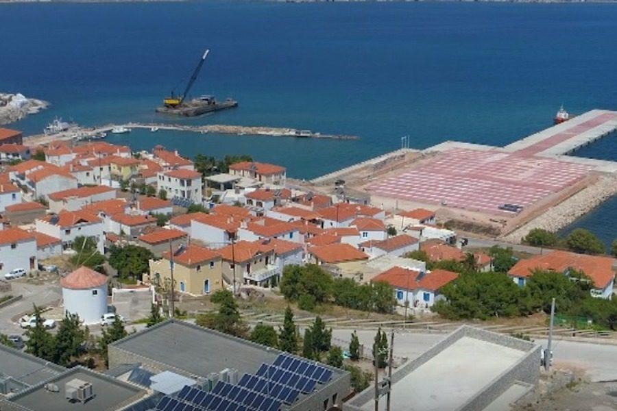 Ολοκληρώνεται ως το τέλος του χρόνου το λιμάνι του Σιγρίου