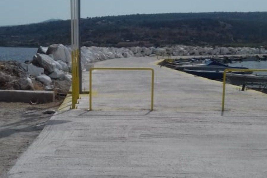 Ανάπλαση και επισκευή στο λιμάνι της Παναγιούδας