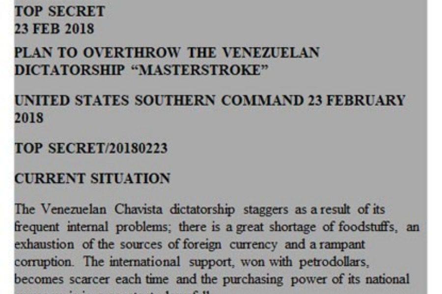 Το λεπτομερές σχέδιο πραξικοπήματος στη Βενεζουέλα από τις ΗΠΑ