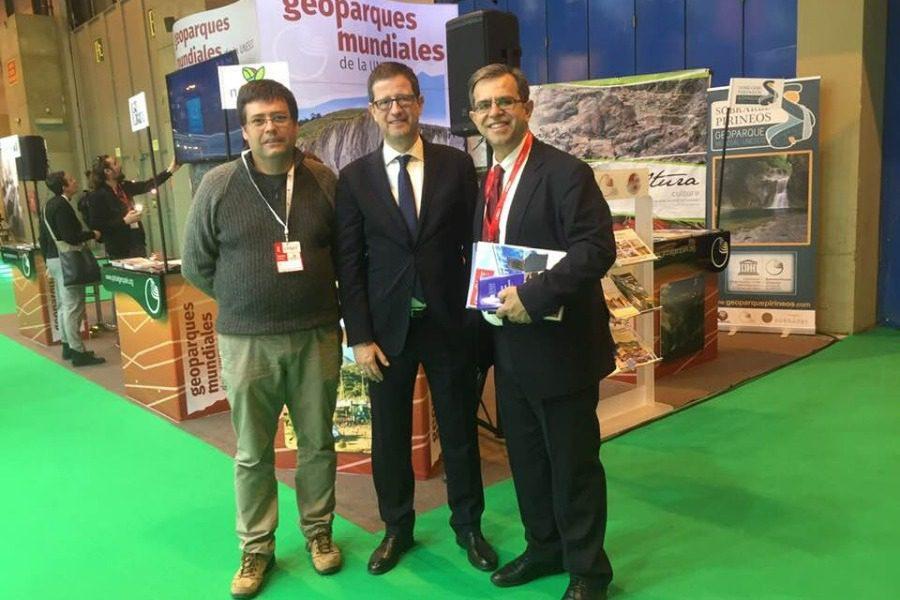 Η Λέσβος ‑ παγκόσμιο γεωπάρκο UNESCO στην έκθεση FITUR της Μαδρίτης
