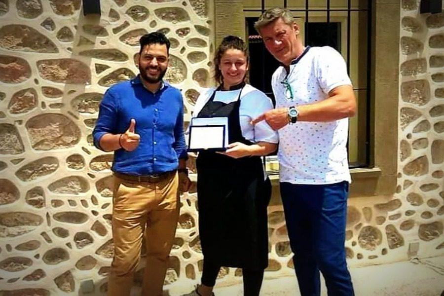 Master Chef και βραβείο της «Ασπίδας» στη Μαργαρίτα