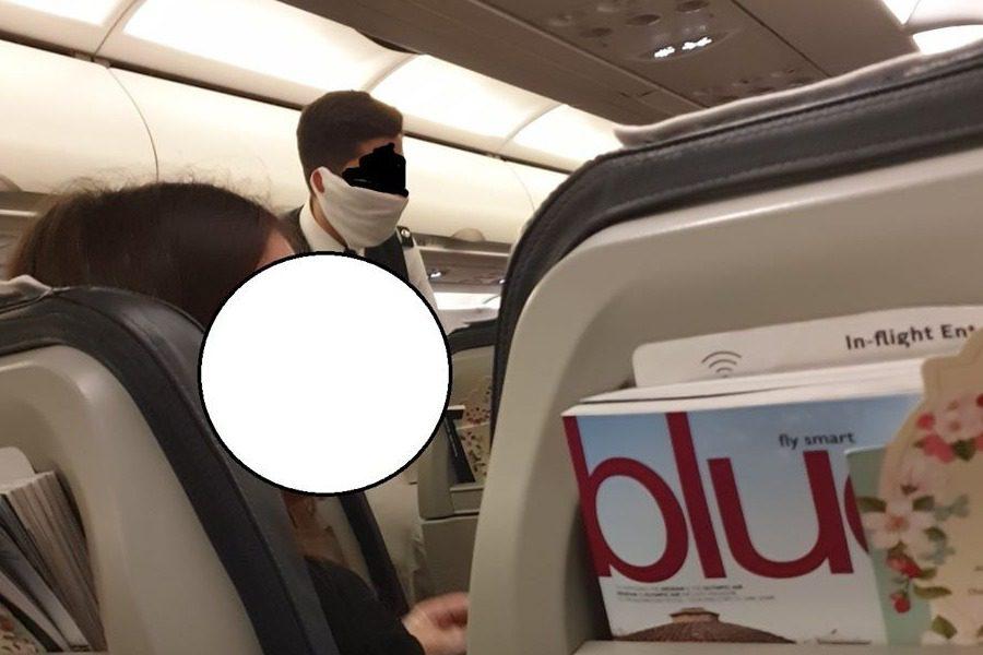 «Δεν μας έγινε κανένας απολύτως ιατρικός έλεγχος στην πτήση!»