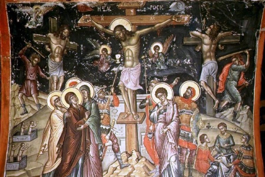 Aπευθείας από την Ι.Μ.Αγίου Ραφαήλ η Aκολουθία των Αγίων Παθών