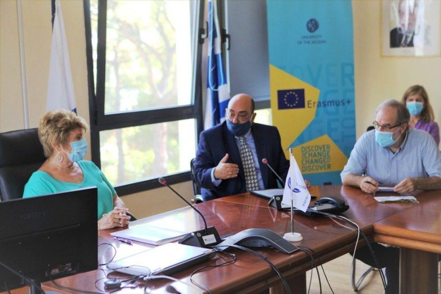 Μνημόνιο συνεργασίας Πανεπιστημίου με τον Δήμο Δυτικής Λέσβου
