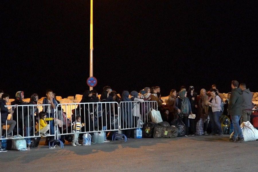Αναχώρησαν 200 αιτούντες άσυλο για Πειραία