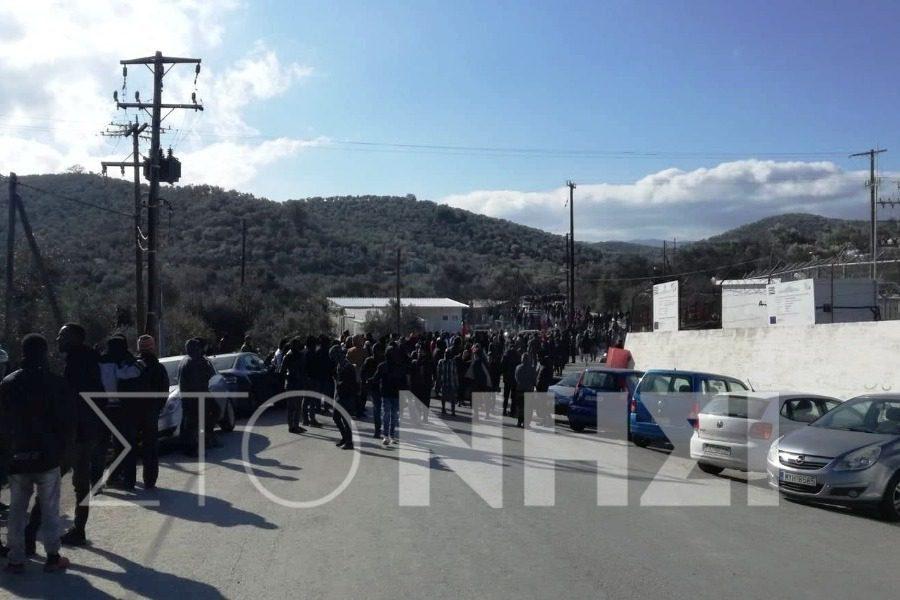 Τρεις συλλήψεις αιτούντων άσυλο για τα επεισόδια της Παρασκευής