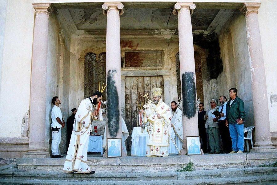Σεπτέμβρης στην εκκλησία του Ταξιάρχη στο Μοσχονήσι