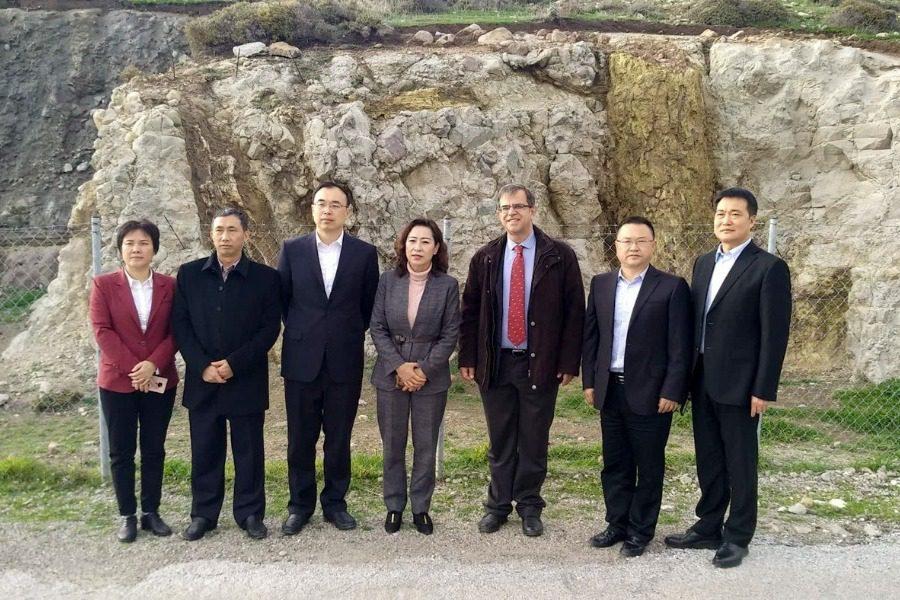 Υψηλόβαθμη αντιπροσωπεία από Δήμο της Κίνας