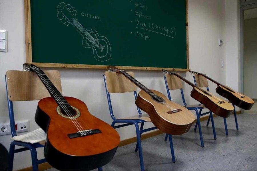 Κατατακτήριες στο Μουσικό Σχολείο Μυτιλήνης