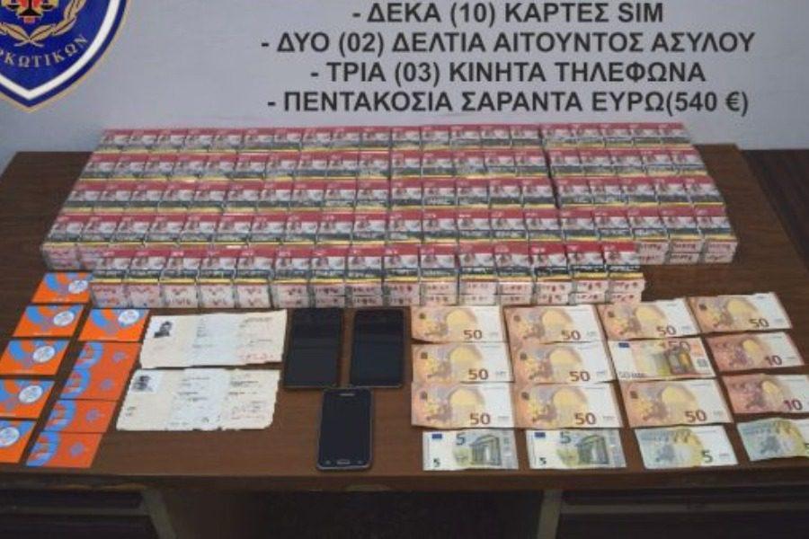 Συνελήφθη με 190 πακέτα λαθραία τσιγάρα!