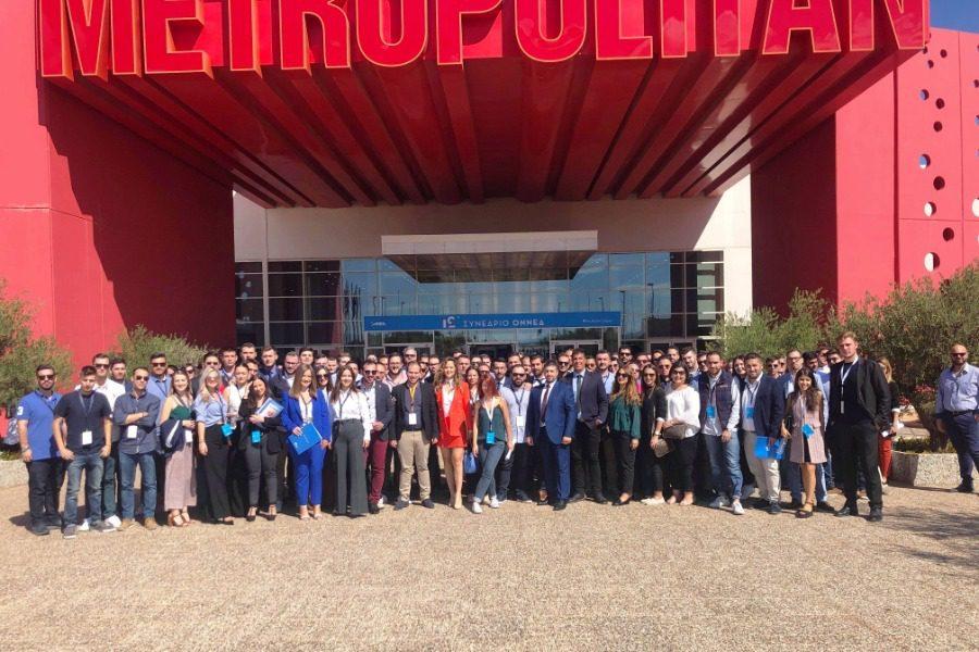 Ολοκληρώθηκε το 12ο συνέδριο της νεολαίας της Νέας Δημοκρατίας