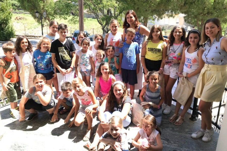 Εικαστικά, κίνηση και εξόρμηση για παιδιά στην Αγία Παρασκευή