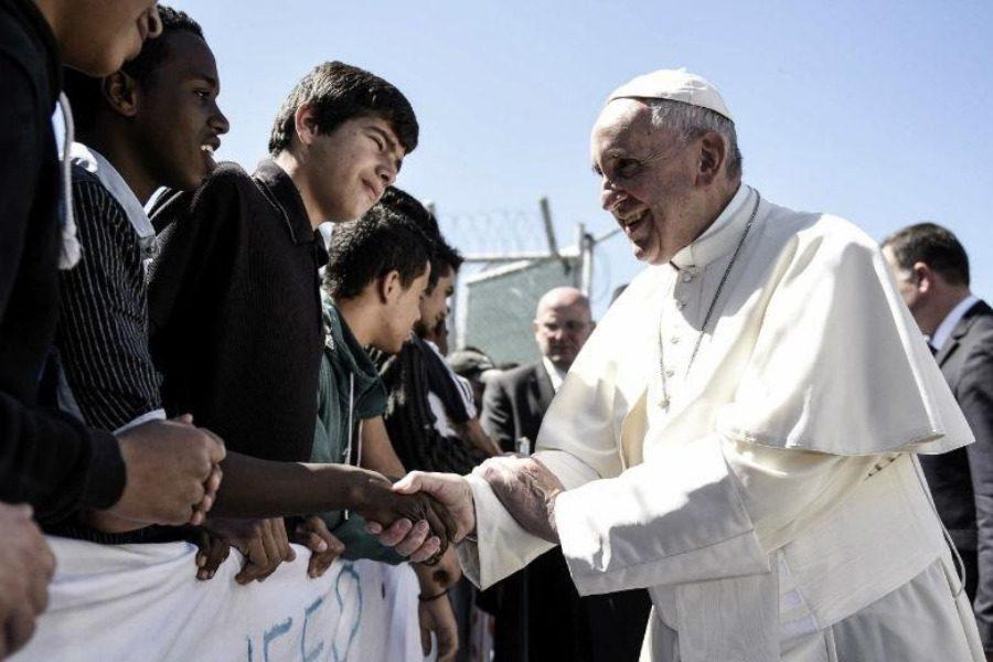 Ο Πάπας στη Μυτιλήνη στις αρχές Δεκεμβρίου!