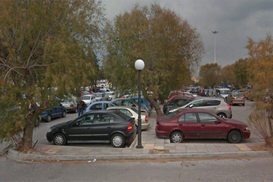 Δωρεάν έλεγχος Covid στο πάρκινγκ Μυτιλήνης