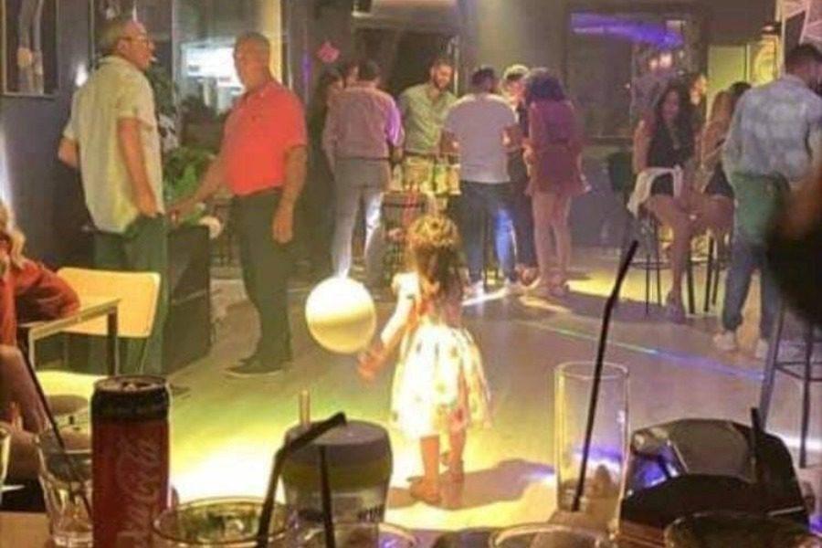 «Καμπάνα» για το πάρτι στο μπαρ της Καλλονής