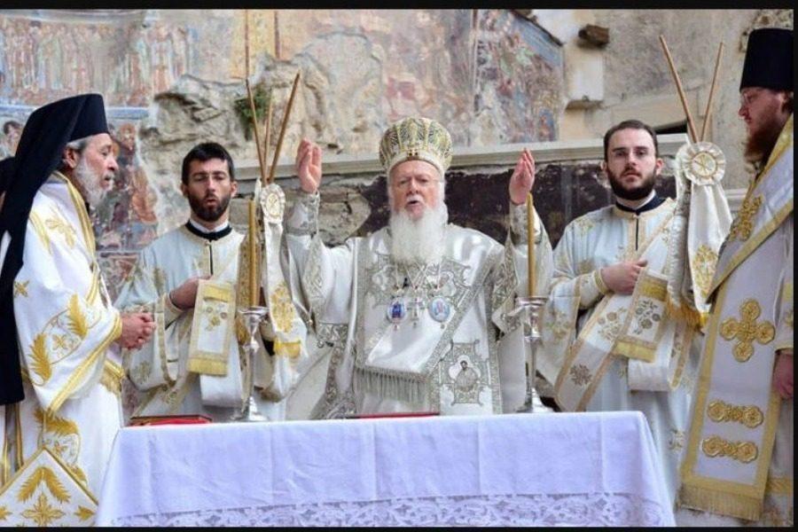 Ο Πατριάρχης στην Παναγία Σουμελά