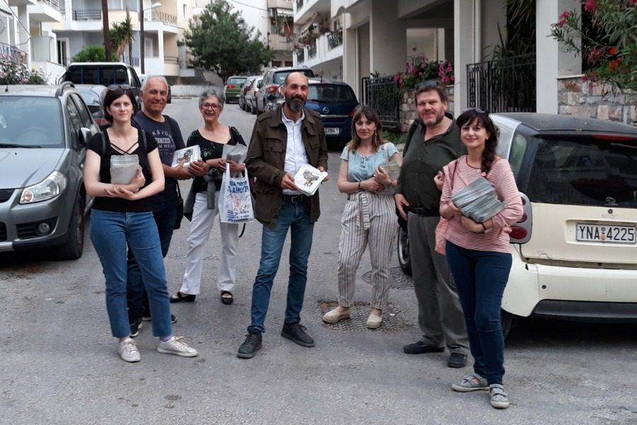 Γιώργος Πάλλης: «Στηρίζω και ψηφίζω τη Δημοκρατική Μυτιλήνη»