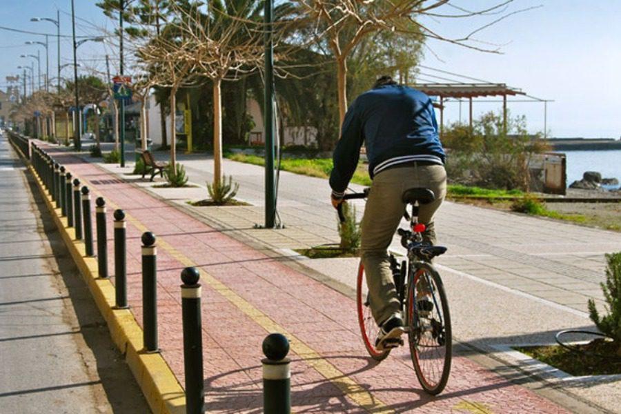 Προχωρούν οι μελέτες για τον ποδηλατόδρομο Σουράδας – Νεάπολης