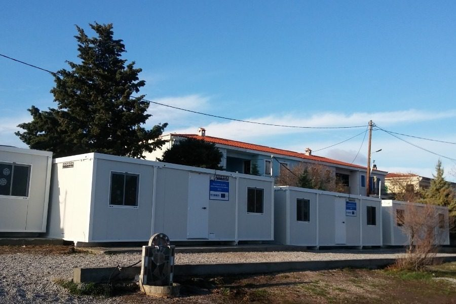 Λυόμενες αίθουσες για τα σχολεία του Πολιχνίτου