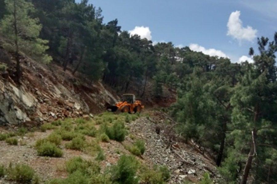 Το βάρος στην αποκατάσταση της βατότητας των δασικών τμημάτων