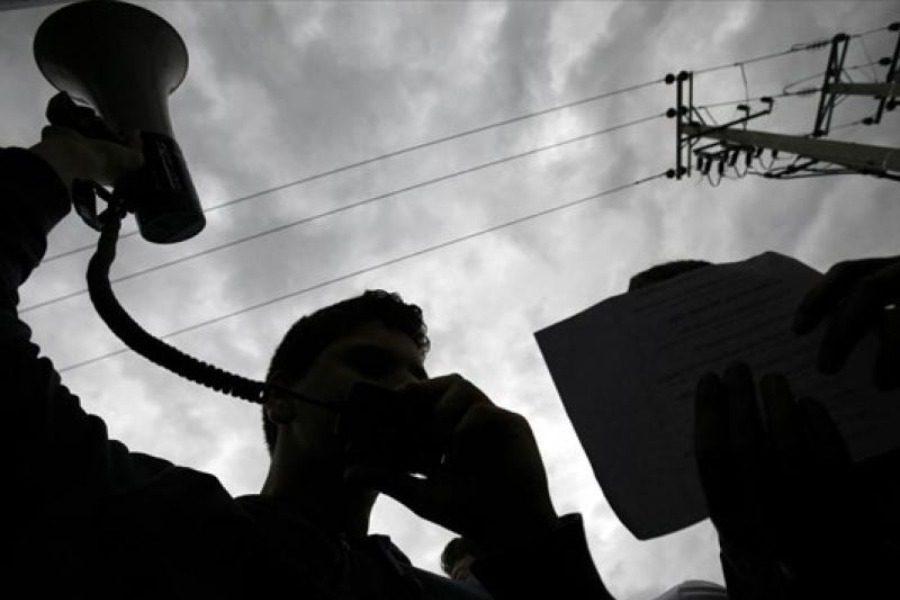 Στα κάγκελα η ΑΔΕΔΥ Λέσβου για τον περιορισμό των διαδηλώσεων
