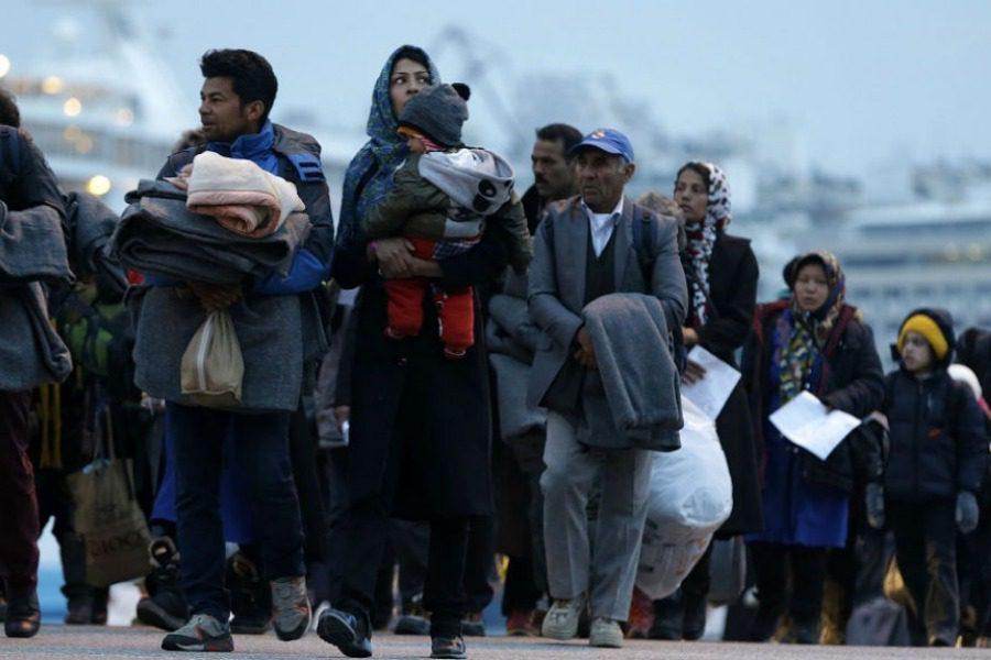 4.105 νέοι αιτούντες άσυλο στη Λέσβο το Νοέμβριο