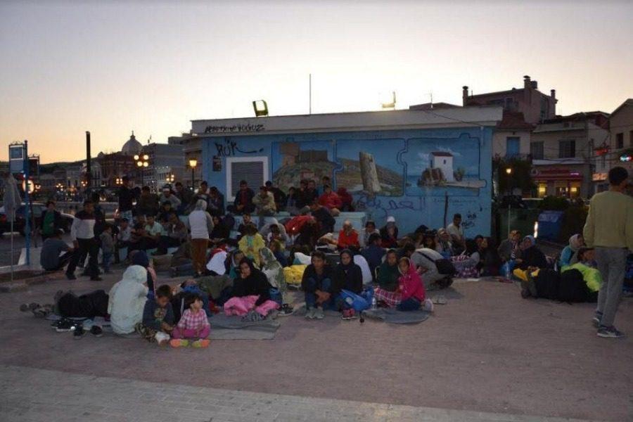 Αθώοι οι πρόσφυγες που κοιμόντουσαν στην πλατεία Σαπφούς