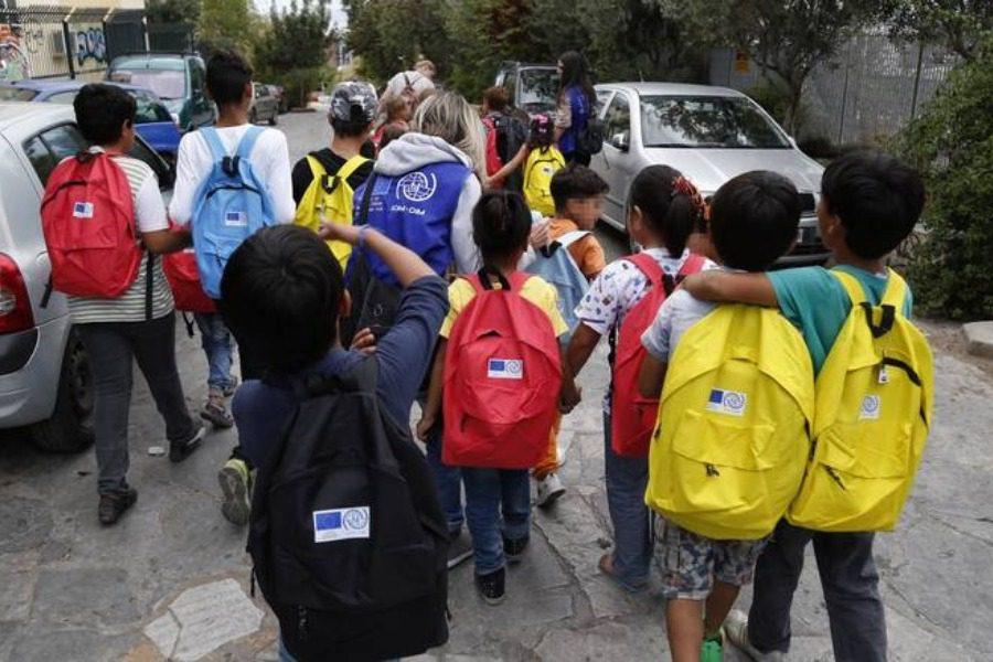 Έκκληση για την εκπαίδευση των προσφύγων